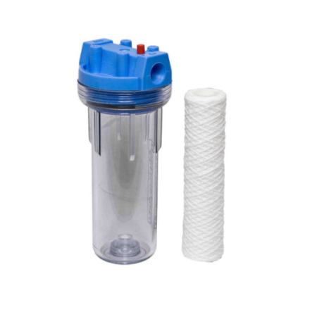 20mm Clear Housing Pre Filter Inc Filter (605/001)