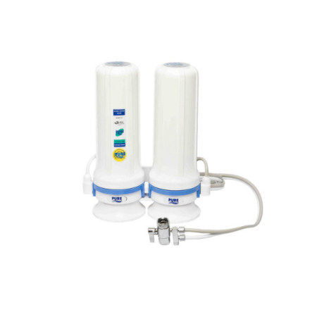 Double Counter Top Dual Tube Water Purifier (684)
